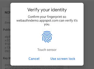Chrome Beta 70 bawa Autentikasi 2 Faktor Via Sensor Sidik Jari Untuk Android & Mac