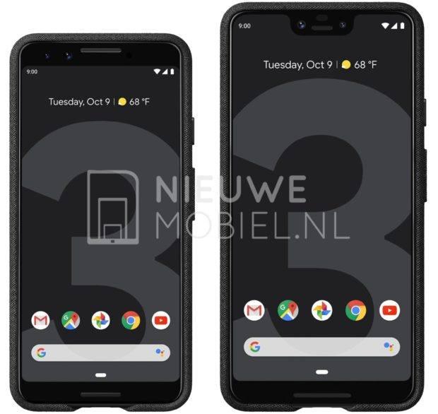 Google Pixel 3 Leak