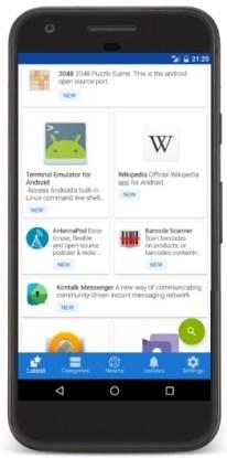 Google Play Store alternatives - F-Droid