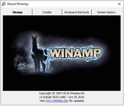 Winamp Media Player Kembali Dari Kematiannya! Terungkap lewat bocoran Versi Beta Baru 5.8