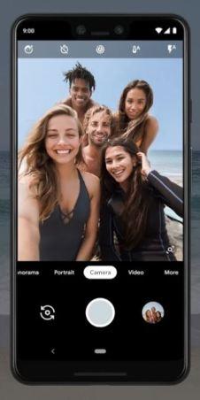 Google Pixel 3 Camera Group Selfie
