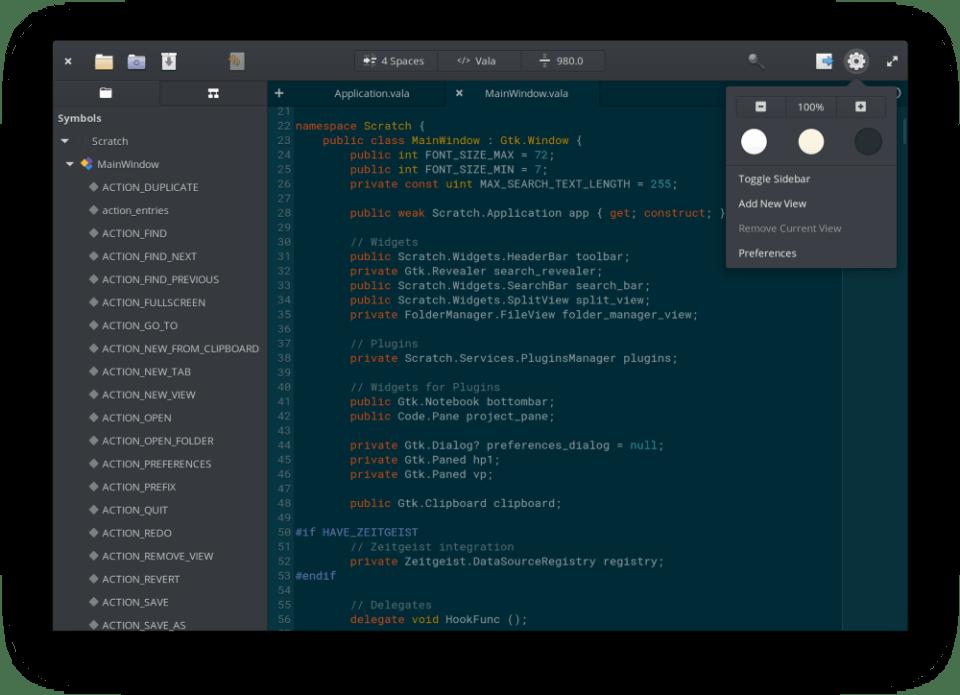 mode gelap dalam kode