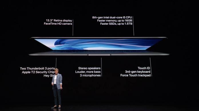 Apple Luncurkan MacBook Air Baru Dengan Retina Display Dan TouchID