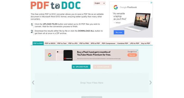 8 PDF Online Terbaik Untuk Konverter Word