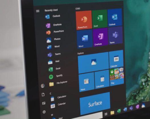 Windows Mulai Ikon Baru