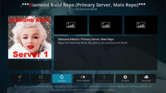 Repositório Diamond Build Kodi