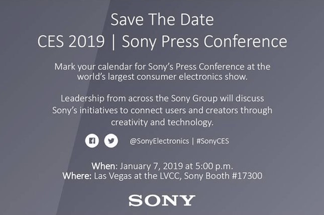 Sony at CES 2019