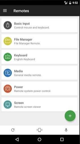 Unified Remote on Android