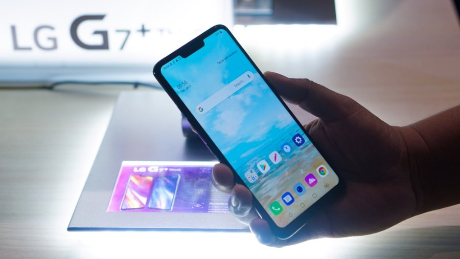 Image result for LG G8 ThinQ images