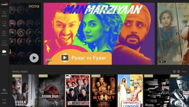 free bollywood movies on airtel xtream