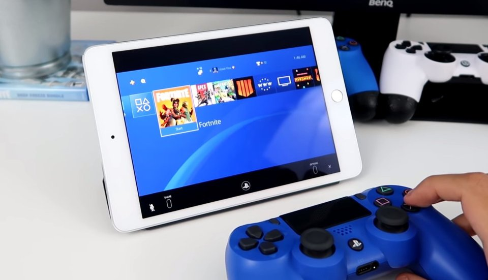 Pembaruan Perangkat Lunak PS4 Apple Remote Play