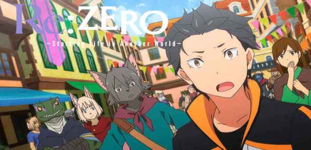 Re-Zero: Starting Life in Another World Top 18 des meilleurs Séries Manga à regarder sur Netflix en 2020