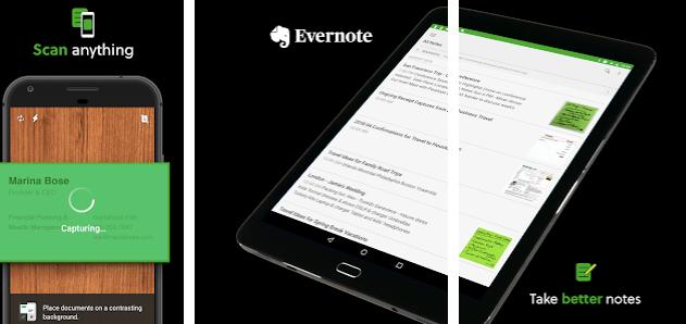 Evernote Cam Scanner Alternative
