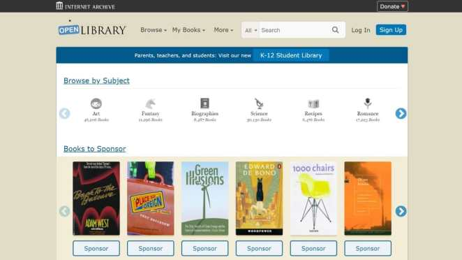 Internet Archive enfrenta processo por doar eBooks de graça