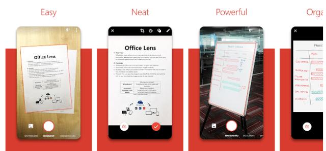 Microsoft Office Lens Cam Scanner alternative
