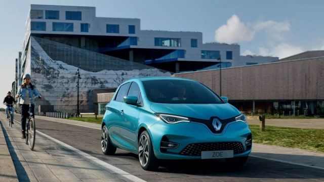Renault Zoe cheap electric cars