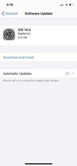 how to install iOS 14 beta