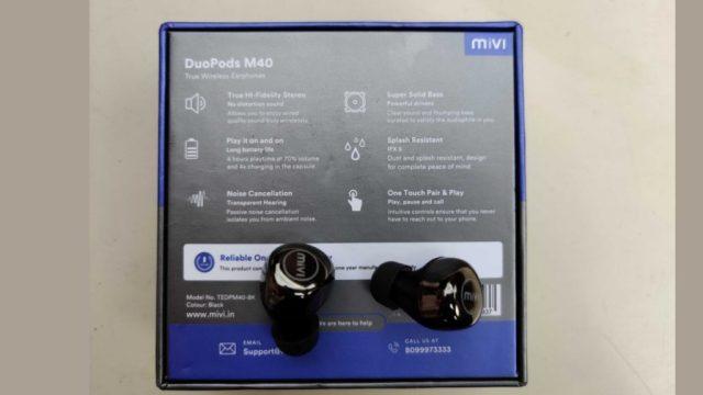 MIVI DuoPods M40 Wireless Earphones Review