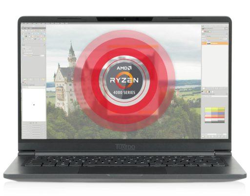Laptop Linux TUXEDO Pulse 14 baseado em AMD pesa apenas 1.1Kg