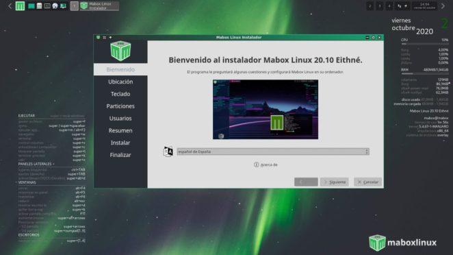 Instalador Mabox em espanhol