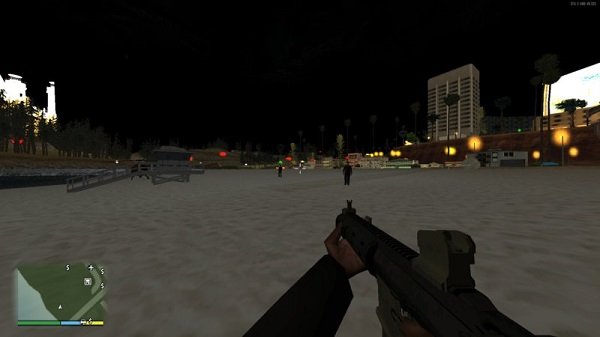 First person view in GTA San Andreas