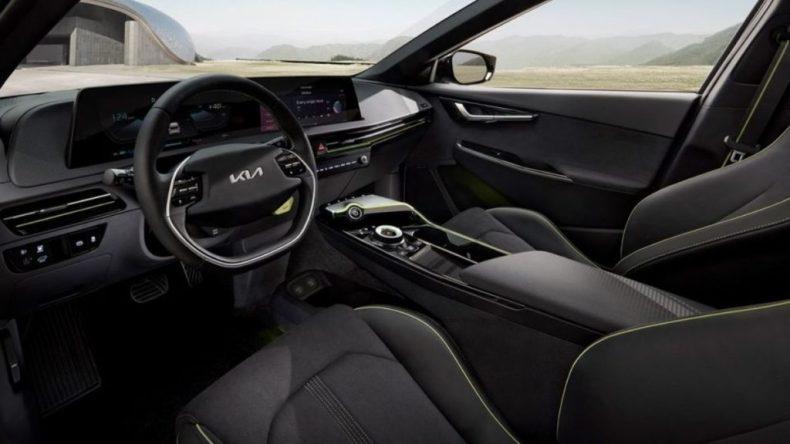 Kia EV6 electric interior