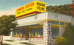 camera store advertising kodak films