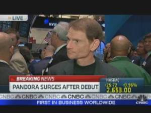 Joe Kennedy as CEO of Pandora
