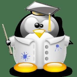 Linux teacher penguin