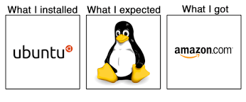 Ubuntu cartoon