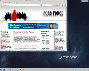 Mageia Firefox