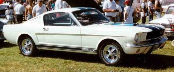 A 1965 Shelby GT350