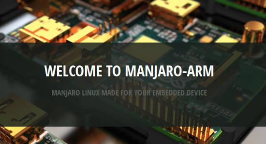 Manjaro Arm welcome