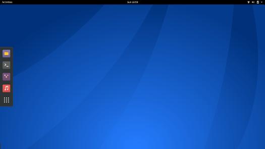 Antergos Linux GNOME