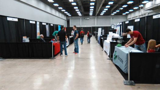 Slow start at Texas Linux Fest 2016