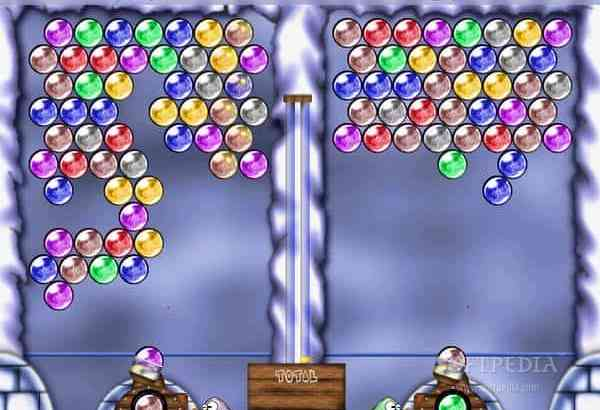 Frozen Bubble free Puzzle PC Game with Puzzle Bobble Style