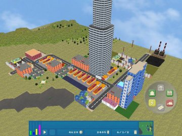 OpenCity - Free Open Source 3D City Building Game