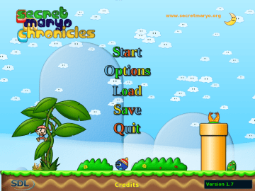 Secret Maryo Chronicles - Free 2D platform Game, clone of Super Mario Bros