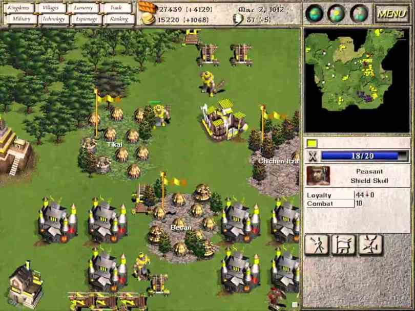 Seven Kingdoms: Ancient Adversaries - Free to Download Classic RTS Game that let you to play against up to six other kingdoms
