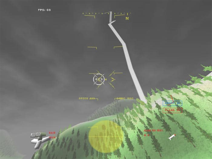 GL-117 - Free Action Combat Flight Simulator Game