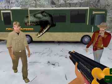 The DinoHunters an advertisement supported FPS Game 1