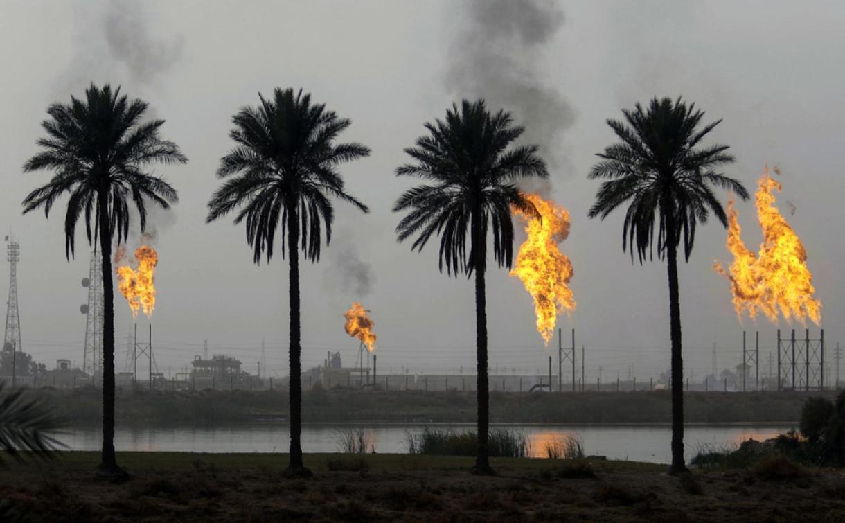 Iraq oil facility AFP