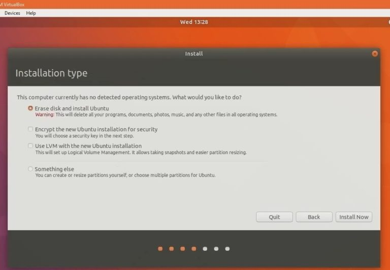 Install Ubuntu 18.04 LTS Bionic on Windows 10 via Virtual Box 13