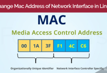 How-to-change-Mac-Address-of-Network-Interface-in-Linux