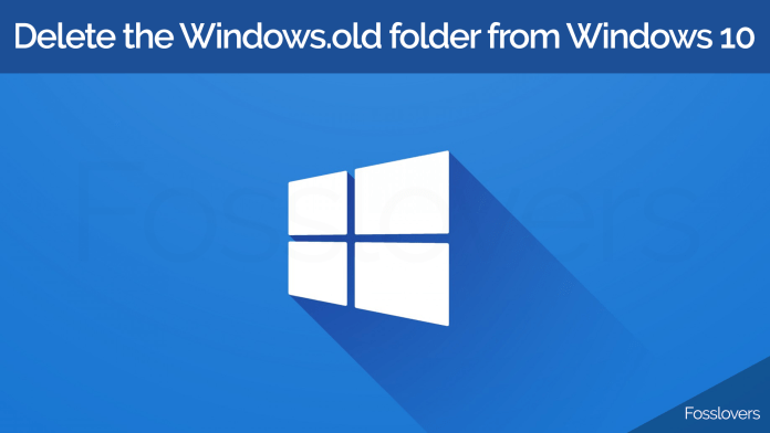 How-to-delete-the-Windows.old-folder-from-Windows-10