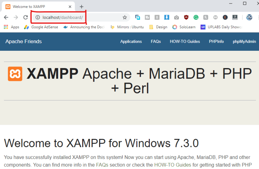 how to install wordpress on localhost via xampp 2