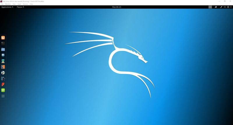install kali linux on windows virtual box
