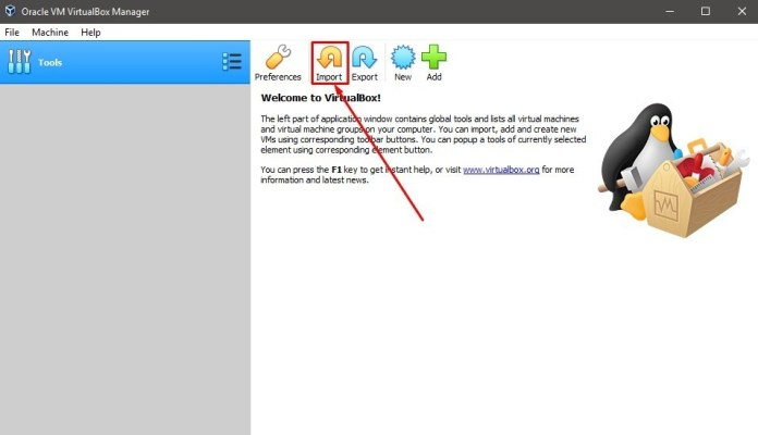 virtualbox import