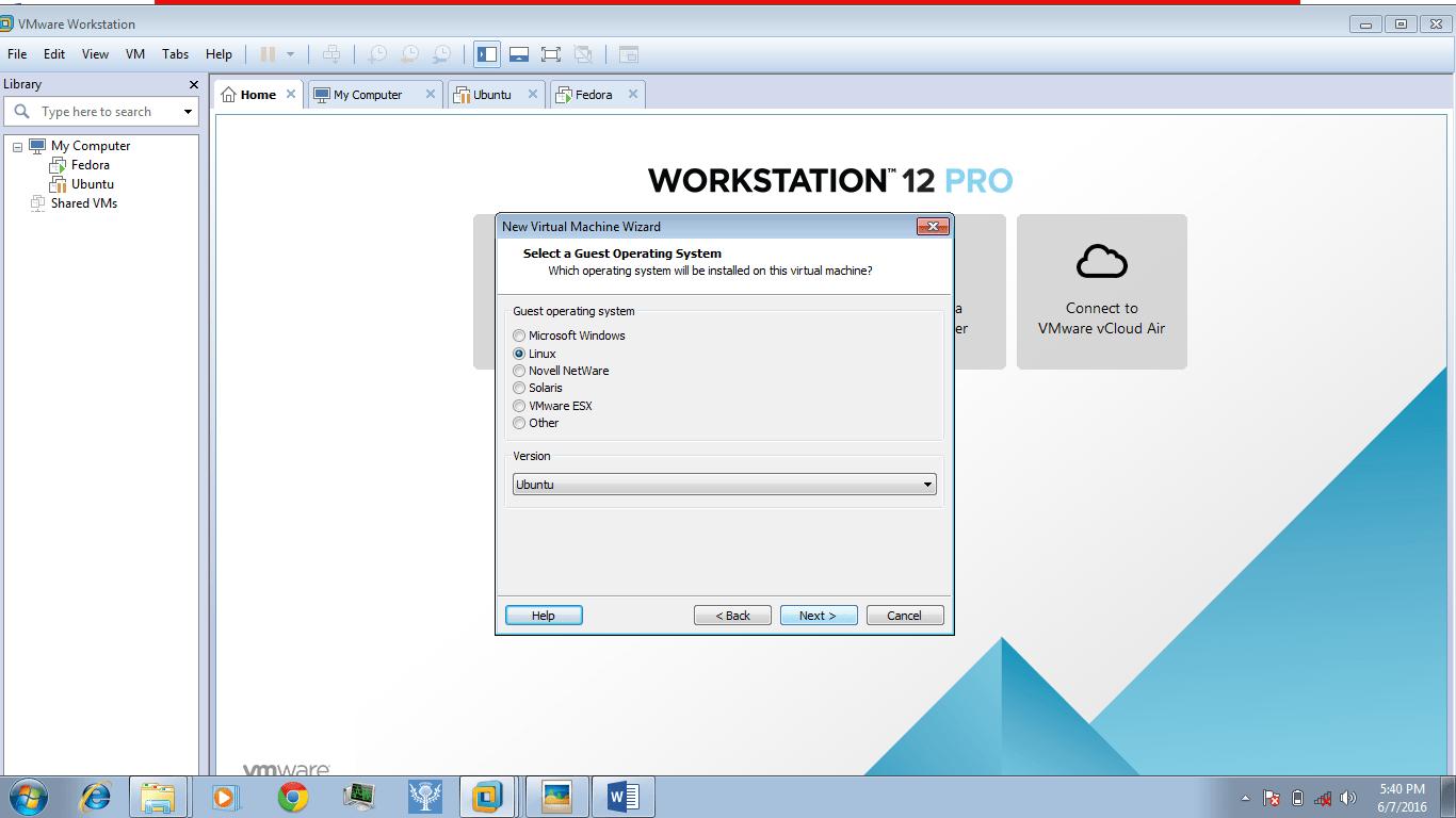 Install any Linux operating system using VMware - Foss Naija