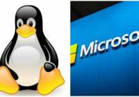 linux tux and microsoft